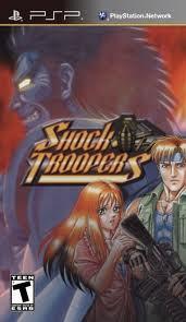 Shock Troopers sur PSP