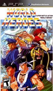 World Heroes sur PSP