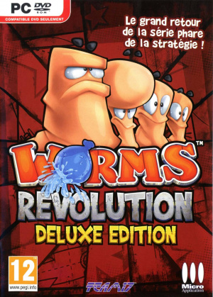 Worms Revolution sur PC