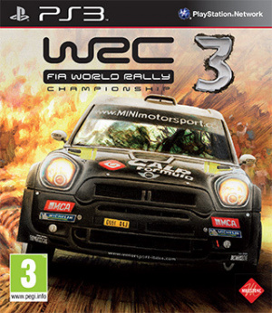 WRC 3 sur PS3