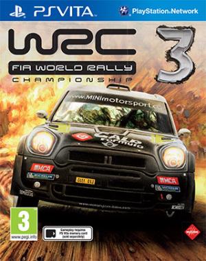 WRC 3 sur Vita