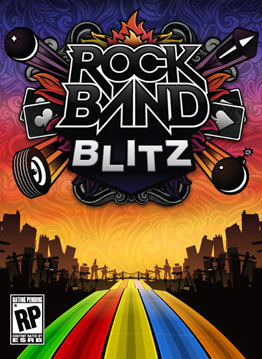Rock Band Blitz sur 360