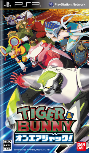 Tiger & Bunny On Air Jack sur PSP