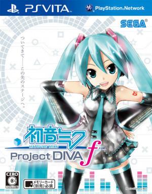 Jaquette de Hatsune Miku : Project Diva f