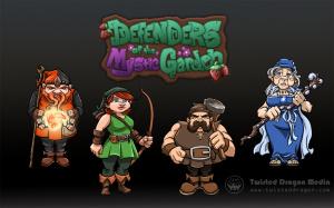 Defenders of the Mystic Garden sur PSP