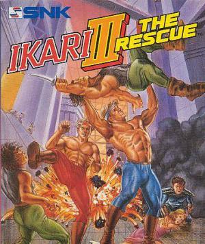 Ikari III : The Rescue sur PSP