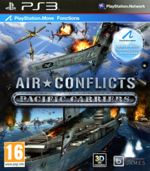 Air Conflicts : Pacific Carriers sur PS3