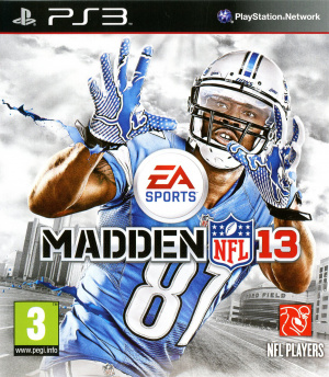 Madden NFL 13 sur PS3
