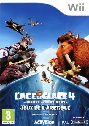 L'Age de Glace 4 : La Dérive des Continents - Jeux de l'Arctique ! sur Wii