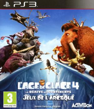 L'Age de Glace 4 : La Dérive des Continents - Jeux de l'Arctique ! sur PS3
