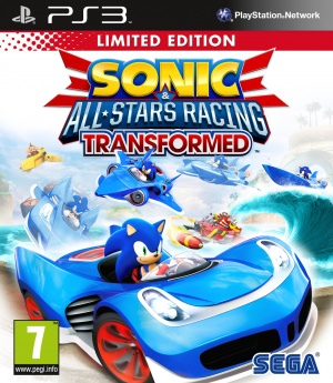 Sonic & All Stars Racing Transformed sur PS3