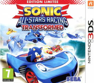 Sonic & All Stars Racing Transformed sur 3DS