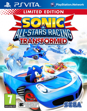 Sonic & All Stars Racing Transformed sur Vita