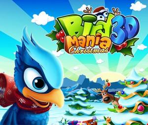 Bird Mania Christmas 3D sur 3DS