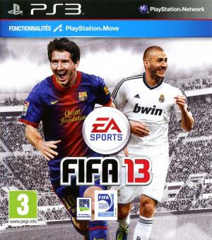 FIFA 13 : La jaquette française !