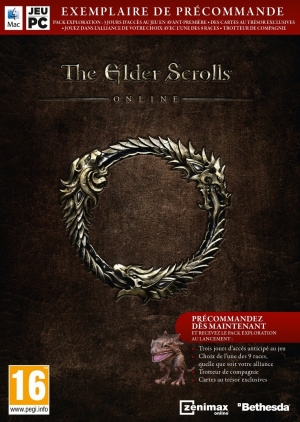 The Elder Scrolls Online : Tamriel Unlimited sur PC