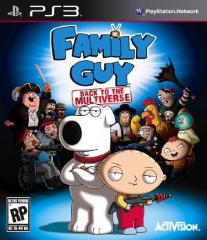 Family Guy : Back to the Multiverse sur PS3