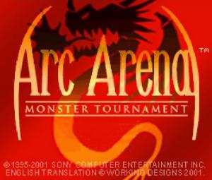 Arc Arena : Monster Tournament sur PS3