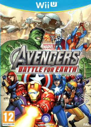 Marvel Avengers : Battle for Earth sur WiiU