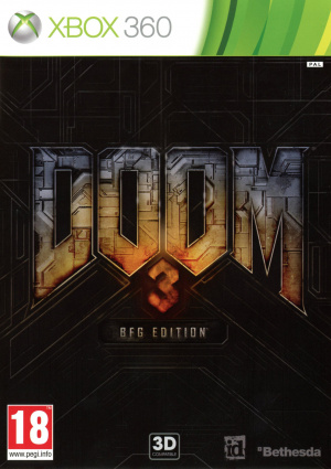 Doom 3 BFG Edition sur 360