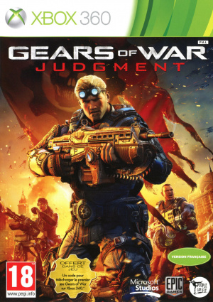 Gears of War Judgment sur 360