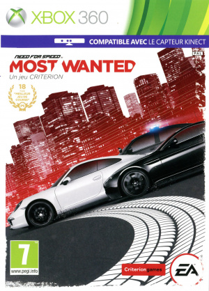 Need for Speed : Most Wanted sur 360