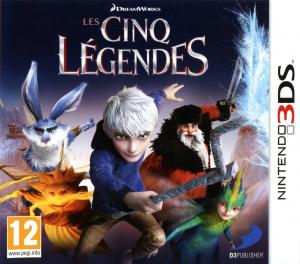 Les Cinq Légendes sur 3DS