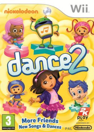 Nickelodeon Dance 2 sur Wii
