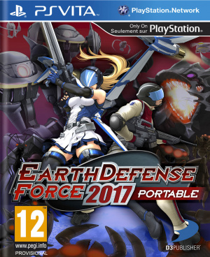 Earth Defense Force 2017 Portable sur Vita