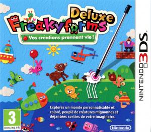 Freakyforms Deluxe sur 3DS