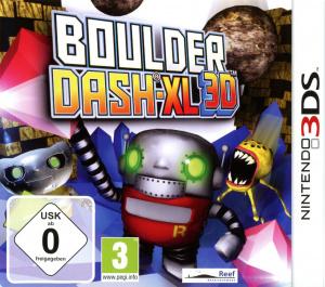 Boulder Dash XL 3D sur 3DS