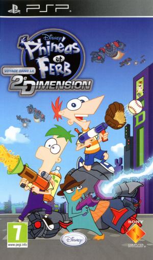 Phinéas et Ferb : Voyage dans la Deuxième Dimension sur PSP