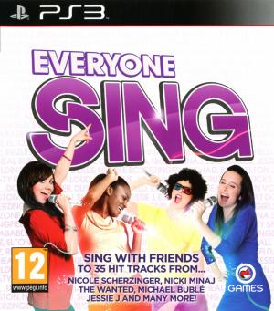 Everyone Sing sur PS3