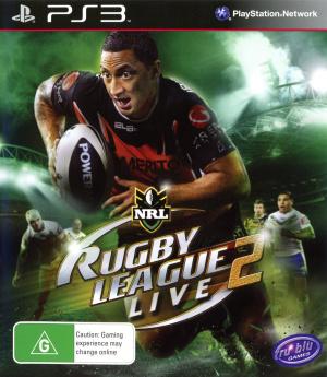 Rugby League Live 2 sur PS3