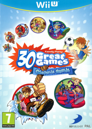 Family Party : 30 Great Games Obstacle Arcade sur WiiU