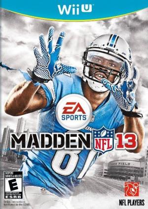 Madden NFL 13 sur WiiU