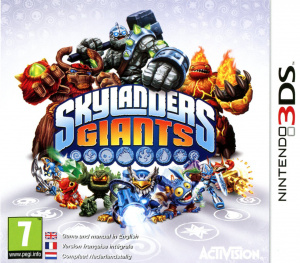 Skylanders Giants sur 3DS