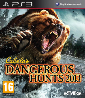Cabela's Dangerous Hunts 2013 sur PS3