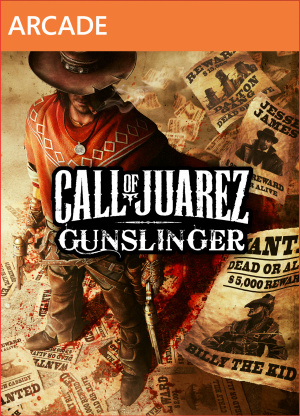 Call of Juarez : Gunslinger sur 360