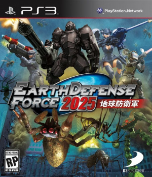 Earth Defense Force 2025 sur PS3