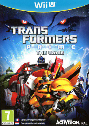 Transformers Prime : The Game sur WiiU