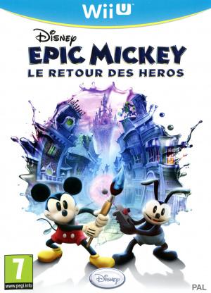 Epic Mickey : Le Retour des Héros sur WiiU