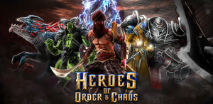 Heroes of Order & Chaos sur iOS