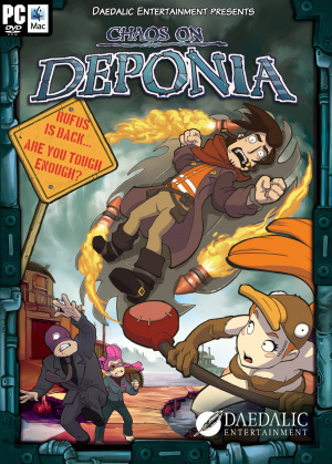 Chaos on Deponia sur PC