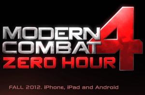 Modern Combat 4 : Zero Hour sur iOS