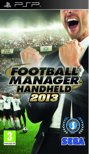 Football Manager 2013 sur PSP