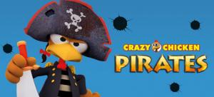 Crazy Chicken Pirates 3D sur DS