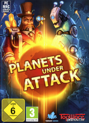 Planets Under Attack sur PC