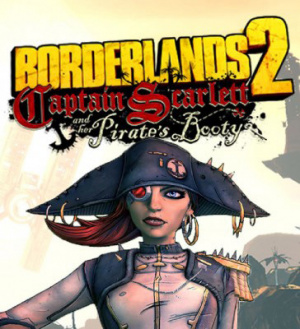 Borderlands 2 : Le Capitaine Scarlett et son Butin de Pirate sur PS3