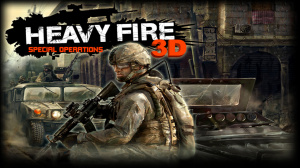 Heavy Fire : Special Operations 3D sur 3DS